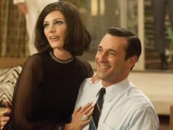 "Jessica Pare, who plays Megan, the new wife of Don Draper (Jon Hamm), is surprised she's a regular on 'Mad Men': ""I honestly can't believe my luck."""