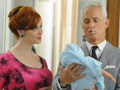 'Mad Men,' featuring Christina Hendricks and John Slattery, drew its biggest audience ever Sunday, 3.5 million, with its two-hour season premiere.