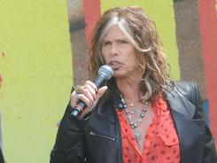 Aerosmith frontman Steven Tyler and his bandmates will put out a new album in June.