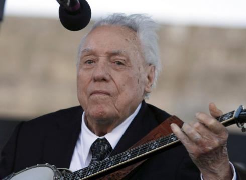 Earl Scruggs, a pioneering banjo player and bluegrass icon, died Wednesday. - Earl-Scruggs-banjo-legend-dies-2L17HHIS-x-large