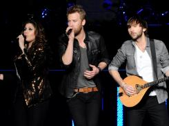 Lady Antebellum performed in Los Angeles on Tuesday.