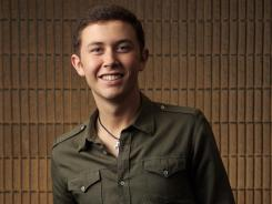 Scotty McCreery will perform his new single at the Academy of Country Music Awards in Las Vegas.