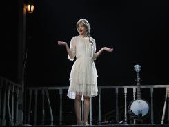 Taylor Swift performs March 18 at Vector Arena in Auckland, New Zealand.