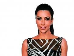 Kim Kardashian arrives at the Valentino Rodeo Drive flagship store on March 27; was she shopping for a husband?