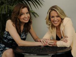 Two's company: Creators/stars Lennon Parham, left, and Jessica St. Clair met a decade ago performing sketch comedy in New York.