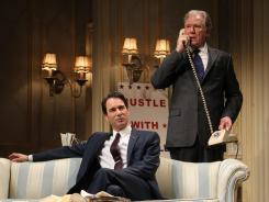 Joseph Cantwell (Eric McCormack), left, and William Russell (John Larroquette) are vying for the presidency in 'The Best Man.'