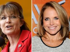 Shades of 2008: NBC is serving up Sarah Palin, the subject of one of Katie Couric's most contentious interviews as her morning-show competition on Tuesday.