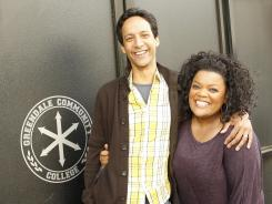 Danny Pudi and Yvette Nicole Brown hope that their NBC sitcom 'Community' will be this year's Save Our Shows champion. Better yet, they hope to still be smiling in mid-May, when the network announces its fall schedule.