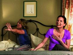 Jessica St. Clair, left, and Lennon Parham write and star in this sitcom based in New York.