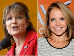 If you can't beat the lamestream media, join it? Sarah Palin spent Tuesday morning on the 'Today' couch while former anchor Katie Couric is co-hosting 'Good Morning America' all week.