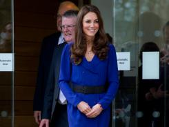 Royally chic: Channel Kate Middleton in Milly's Joanna dress in cobalt, available for $425 at Piperlime.com.