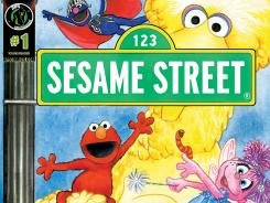 Ape Entertainment brings the Sesame Street gang to comics for the first time this year.