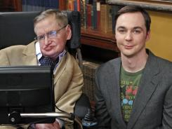 "Sheldon (Jim Parsons) is willing to do anything to meet Stephen Hawking on ""The Big Bang Theory."""