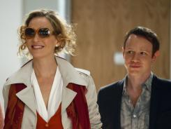 Uma Thurman stars as Rebecca Duvall, the new lead of the Marilyn Monroe musical on NBC's 'Smash.'