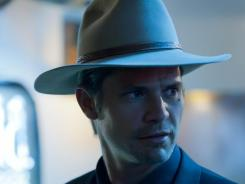 The 'Justified' season finale looks into Raylan's (Timothy Olyphant) past with a twist that hits close to the character.
