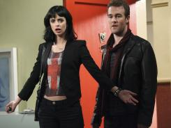 Chloe (Krysten Ritter) and best friend James Van Der Beek (who plays a comedic version of himself) learn that Chloe's new, naive, roommate can out-scam the two of them.