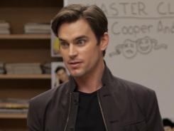 'Glee' returns from a two-week hiatus with guest star Matt Bomer, who plays Blaine's older brother.