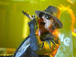 Sometimes you need some time: Axl Rose of Guns N' Roses won't join his bandmates for their induction into the Rock and Roll Hall of Fame.