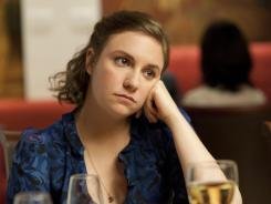 Lena Dunham, writer and star of HBO's 'Girls,' has a way of writing and saying lines that hit multiple notes at once.