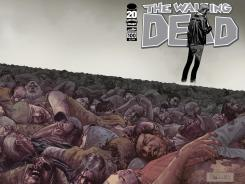 The cover of 'The Walking Dead' Issue 100, out this summer, shows every prominent character who's died so far in the comic book.
