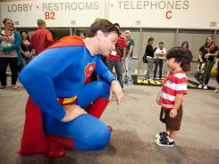 Super fan meets Superman: Morgan Spurlock's latest documentary explores the world of Comic-Con.