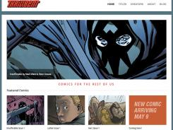 Mark Waid launches his new digital comics project Thrillbent next month.