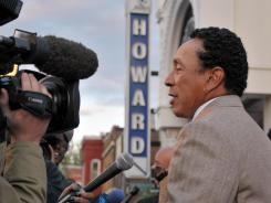 "Smokey Robinson first performed at The Howard Theatre as a ""scared to death"" 16-year-old on the Motown bill."