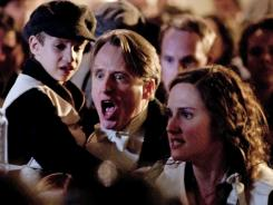 Linus Roache plays Hugh, Earl of Manton, a First Class passenger aboard Titanic.
