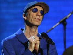 Robin Gibb performs during the Jose Carreras Gala rehearsal Dec. 14, 2006, in Leipzig, Germany.