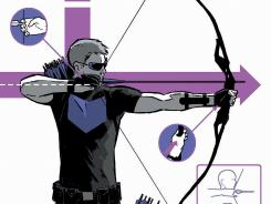 Matt Fraction aims on exploring Clint Barton rather than his costumed alter ego with his new Hawkeye series.