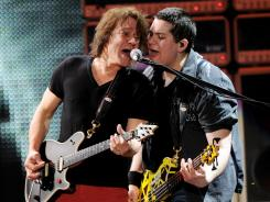 Wolfgang Van Halen has joined his father, Eddie Van Halen, on the road with the supergroup.