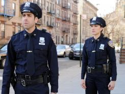 'Schindler's List' alumni Adam Goldberg walks a beat in CBS' 'NYC 22,' along with Judy Marte. The new drama collared 8.9 million viewers.