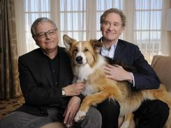 "'Darling Companion' is Lawrence Kasdan, left, and Kevin Kline's sixth film together since 1983's 'The Big Chill.' ""He just won't quit until I get it right,"" says Kline. ""I don't know why he keeps working with me."""