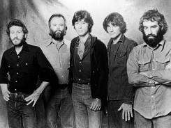 The Band included Levon Helm, Garth Hudson, Robbie Robertson, Rick Danko and Richard Manuel.