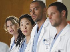 Life after Seattle Grace? Residents Meredith (Ellen Pompeo), Cristina (Sandra Oh), Jackson (Jesse Williams) and Alex(Justin Chambers) have some big decisions to make as they begin to interview for jobs on 'Grey's Anatomy.'