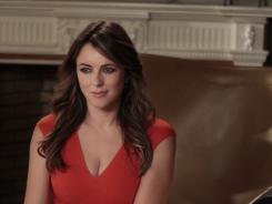 Nate investigates Diana (guest star Elizabeth Hurley) on 'Gossip Girl.'
