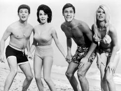 TCM toasts the '60s with four beach films featuring Frankie Avalon, left, and Annette Funicello (with unnamed actors in 1965's 'Beach Blanket Bingo').