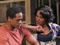 Stanley and Blanche: Blair Underwood and Nicole Ari Parker.