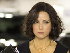 Hail to the veep: Julia Louis-Dreyfus is Vice President Selina Meyer, who works with a set of familiar office archetypes.