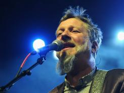 Glenn Tilbrook of Squeeze performs on Saturday during the 2012 Coachella Valley Music and Arts Festival.