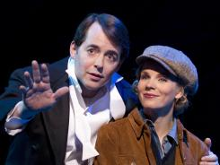 Matthew Broderick and Kelli O'Hara star in 'Nice Work If You Can Get It,' now playing at the Imperial Theatre in New York.