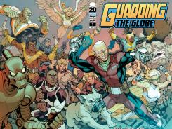 A whole mess of heroes star in the upcoming Image Comics series Guarding the Globe.