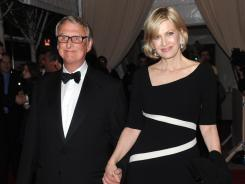 Mike Nichols, pictured in 2010 with wife Diane Sawyer, is best known as the director of 'The Graduate,' for which he won an Oscar in 1968.