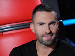 Adam Levine's team was showcased on 'The Voice' on Monday, along with CeeLo Green's singers.