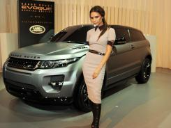 Range Rover's special edition Evoque features luxe details taken from designer Victoria Beckham's personal life.