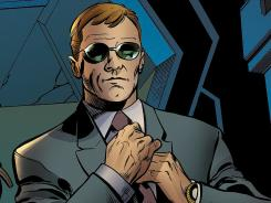 S.H.I.E.L.D. Agent Phil Coulson, a staple in the Marvel Studios superhero movies, comes to the Marvel Universe in the latest issue of Battle Scars.