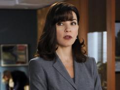 "Alicia (Julianna Margulies) has to contend with her adversaries in court and her conflicted feelings for Peter (Chris Noth) in the season finale of ""The Good Wife,"" Sunday on CBS."
