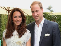 Prince William and Kate, the Duke and Duchess of Cambridge, are seen at The Foundation Polo Challenge at The Santa Barbara Polo & Racquet club in July 2011.