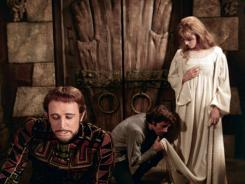 Richard Harris, left, Franco Nero and Vanessa Redgrave in 'Camelot.'