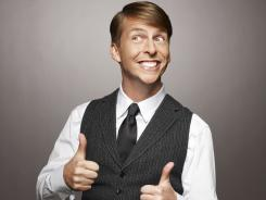 On the live episode of '30 Rock,' Kenneth Parcell (Jack McBrayer) tries to convince everyone that live episodes are important.